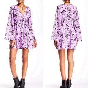 Free People Lilou Floral Printed Dress